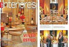 """VIP Interiores"" featured Leonor Moreira Romba Arquitecturas ""007 Golden Eye"" table with Aldeco, Interior Fabrics partnership!"