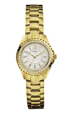 Guess I11068L1 – Boutique Hoco This gold #Guess watch is now just £50 in our huge sale!