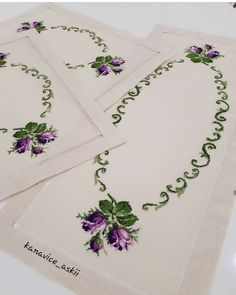 Embroidery Stitches Tutorial, Crewel Embroidery, Cross Stitch Rose, Dragons, Sewing, Cross Stitch Flowers, Hand Towels, Crochet Table Runner, Crochet Purses