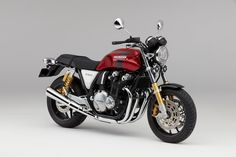 The 2017 Honda CB1100RS in Candy Prominence Red color