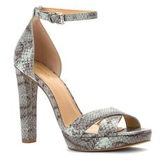 MICHAEL Michael Kors Womens Divia Ankle Strap Sandals Celadon Size 80 ** Click on the image for additional details.