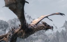 skyrim dragons   Added to Skyrim Dragons 01 — 3 years ago