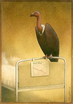 Creative Satirical Illustrations by Pawel Kuczynski