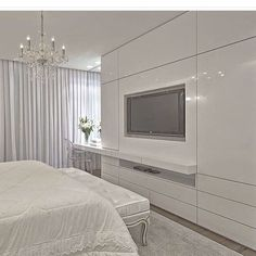 ✩ Check out this list of creative present ideas for people who are into cooking Bedroom Tv Cabinet, Bedroom Tv Wall, Bedroom Cupboard Designs, Bedroom Cupboards, Bedroom Wardrobe, Dream Bedroom, Bedroom Decor, Closet Designs, Suites