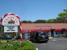 Where to go for the best fudge and candy on Cape Cod.  Rte. 28 in S. Yarmouth.