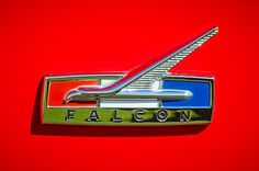 Ford Images by Jill Reger - Images of Fords - 1964 Ford Falcon Emblem Auto Logos, Car Logos, 1964 Ford Falcon, Ford Girl, Australian Cars, Car Badges, Badge Logo, Hood Ornaments, Love Car