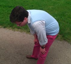 Look at my fucking red trousers!: Spotted a four-leafed clover?