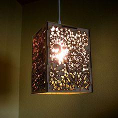 wood pendant lights - Google Search