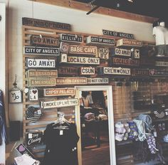 Weathered Signs x Brandy Melville ♡