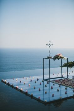 Swoon...destination wedding Bali, cliff, poolside / Photography by Terralogical / terralogical.com, Design and Planning by Cakes