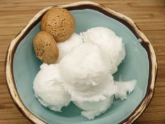Moveable Feasts: Coconut Sorbet