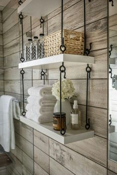 Grear idea for mums bathroom