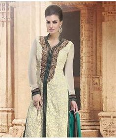 Georgette Suit with Dupatta | I found an amazing deal at fashionandyou.com and I bet you'll love it too. Check it out!