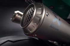 A full titanium exhaust system by Akrapovic for the Ducati 1299 Panigale R Final Edition