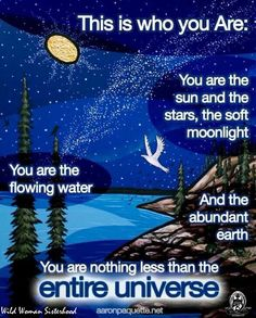 Lovely! This is who you are: You are the sun and the stars... #PersonalLeadership #Women #GKMTNconsults