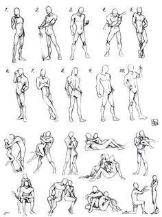 Cartoon Drawing Tips for Kids Figure Sketching, Figure Drawing Reference, Anatomy Reference, Art Reference Poses, Gesture Drawing, Body Drawing, Drawing Base, Manga Drawing, Anatomy Sketches