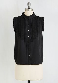 You're in Potluck Top. That party youre planning? #black #modcloth