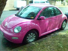 Brand New V W, in Pink !