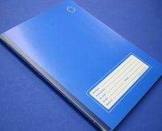libreta azul cuadro chico 5mm
