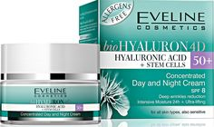 Biohyaluron 4d Concentrated Face Day and Night Cream 50  for All Skin Types, Also Sensitive Deep Wrinkles Reduction 50 Ml >>> Additional details found at the image link  : Creams and Moisturizers