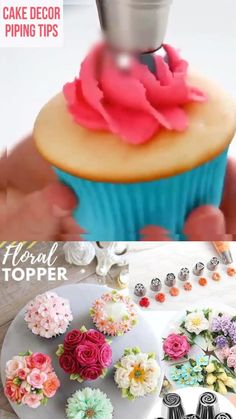 Russian Cake Tips, Russian Cakes, Cake Piping, Piping Bag, Easter Cupcakes, Christmas Cupcakes, Cake Decorating Piping, Cake Decorating Techniques, Cake Creations
