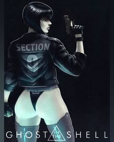 Motoko Kusanagi By Hofsta - Aaron Hofsass Comic Manga, Comic Art, Cyberpunk Girl, Cyberpunk 2077, Cyberpunk Fashion, Japanese Video Games, Motoko Kusanagi, 3d Girl, Ghost In The Shell