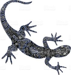 Lizard Tattoo Design Idea - Tattoo Design Ideas and Pictures - Zimbio Back Tattoos, Future Tattoos, New Tattoos, Sleeve Tattoos, Maori Tattoos, Gecko Tattoo, Lizard Tattoo, Aboriginal Tattoo, Aboriginal Art Animals