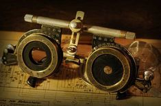 Steampunk Goggles | steampunker.de: Steampunk Galerie - Kunst, Kleidung, clothing, artwork & fashion