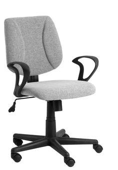 Kancelářská židle RUNGSTED potah šedý | JYSK