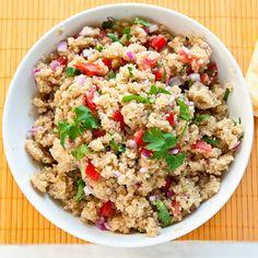 Mexican Quinoa...simple recipe!