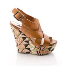 Diane // Woven Detail Wedge // ShoeMint