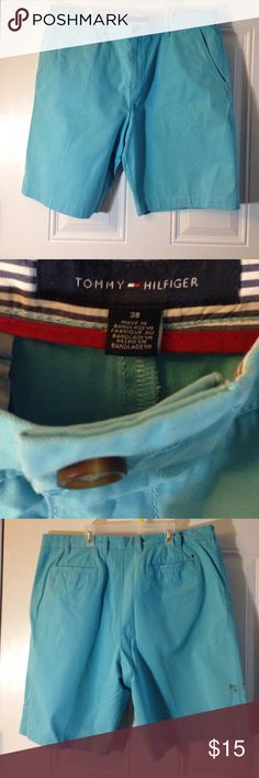 Tommy Hilfiger Shorts Good Condition One Small stain Never washed  But low price Tommy Hilfiger Shorts Cargo
