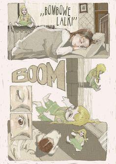 bombowe lalki opowieści praga gada 2013 Urbaniak komiks dzieci retro