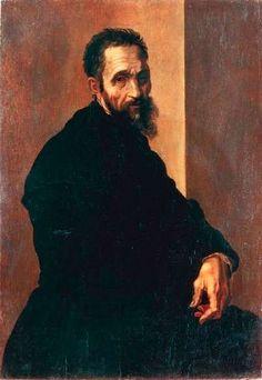 1535c. Portrait of Michelangelo IACOPINO DEL CONTE  (Firenze, 1515 circa – Roma, 1598)  #TuscanyAgriturismoGiratola