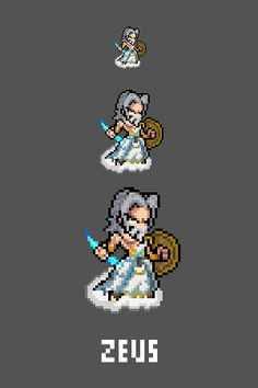 Zeus Emote / Sprite we made for Smitewww.twitch.tv/smitegame
