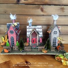 The falling leaves have been stunning these past weeks.  If you follow me you know I love to create for Fall. When I get to create for Cr...