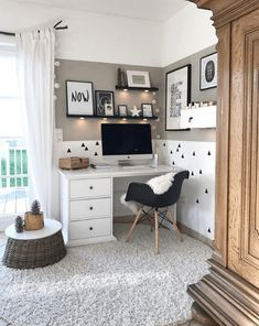 won't mind obtaining job made with a home office like among these. Discover inspiration for your home office design with ideas for design, storage and furnishings. Room Design Bedroom, Room Ideas Bedroom, Bedroom Decor, Home Office Inspiration, Room Inspiration, Office Ideas, Home Office Design, Home Office Decor, Home Decor