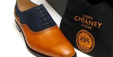 Joseph Cheaney & Sons has released four new men's shoes for summer 2014. The mini collection sees classic silhouettes get a contemporary makeover in lighter materials and new colour ways. Comprising of the two-tone Newport brogue and Edwin models, both feature a premium mix of calf leather and suede and is available in two colour options. You can buy the latest range of men's Joseph Cheaney & Sons shoes now. Click Link To Read