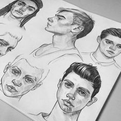 ✔ Hair Drawing Reference From Behind Cartoon Drawings Of People, Drawing People, Face Sketch, Boy Sketch, Sketch Drawing, Poses References, Art Drawings Sketches, Art Sketchbook, Drawing Reference