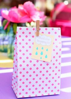 April Showers Bring May Flowers themed baby shower