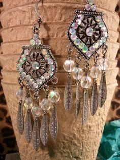 Chandelier Earrings, Bohemian Earrings, Boho Earrings