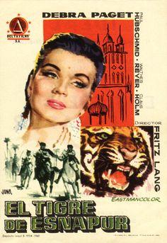 1959 - El tigre de Esnapur - Der Tiger Von Eschnapur - tt0052295
