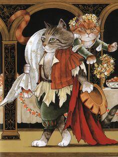 9. Женившись на Катарине, Петруччо уносит ее, не принимая участие в свадебном пиршестве. «Укрощение строптивой»