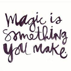I believe in magic! #magicmonday #believe #magicquote #makemagichappen