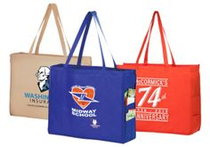 Reusable bags can be used for so much more than carrying groceries home. Here are 8 other uses for your #ReusableShoppingBags. #GoReusableNow #GoGreen #ReusableBags #EcoFriendly