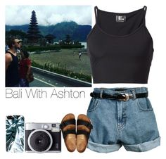 """Bali With Ashton"" by hana-69 ❤ liked on Polyvore featuring Retrò, Marc by Marc Jacobs, Lost & Found and Birkenstock"