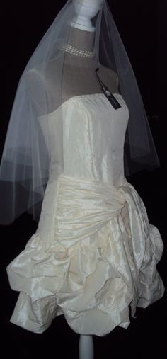 A bride dress made by myself ... I look for a bride to wear it  - size 38