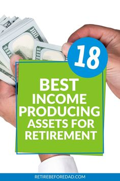 What attracts me to income-producing assets the most is that you don't need to sell them for retirement income — they generate income and preserve wealth. Here's how you can do it. #retirebeforedad #retirementincome #passiveincome