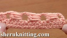 Crochet Quadruple Stitch : Quadruple Treble Crochet Stitch (quadtr) Crochet Basics Tutorial 13 ...