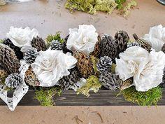 DIY Floral Arrangement for a Fall Wedding Centerpiece